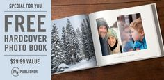FREE hardcover Classic (8.75x11.25) photo book | Closet of Free Samples | Get FREE Samples by Mail | Free Stuff