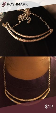 Silver necklace Adjustable necklace - dresses up any outfit! Chico's Jewelry Necklaces