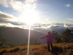 Sunrise at Mt. Campsite, Philippines, Sunrise, Mountains, Nature, Travel, Camping, Naturaleza, Viajes