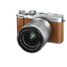 Fujifilm X-M1 Fotocamera Digitale 16 Megapixel, Sensore CMOS X-Trans APS-C, Ottiche Intercambiabili con Obiettivo XC 16-50 mm F3.5-5.6 OIS, Marrone di Fujifilm, http://www.amazon.it/dp/B00FGO9R6I/ref=cm_sw_r_pi_dp_faM8sb07HYWW4