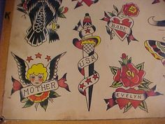 Explore Vintage Tattoo Flash's photos on Flickr. Vintage Tattoo Flash has uploaded 2059 photos to Flickr.