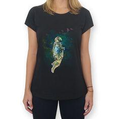 Camiseta O Astronauta do Studio Tatianagomes por R$70,00