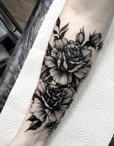Like this darker style, would go more with the mandalas already present. Left arm