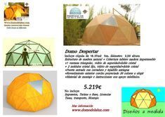 Domodelaluz: Domos que ofrecemos VENTA Outdoor Gear, Tent, Frosting, Wood Table Tops, Timber Frames, Natural Wood, Store, Tentsile Tent, Outdoor Tools