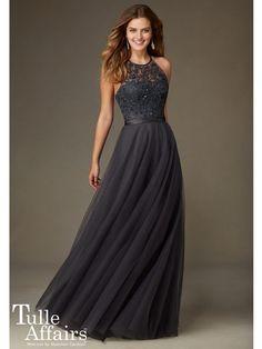 Affairs by Mori Lee - Bridesmaid Dress Style No.136