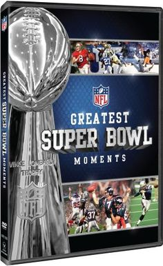 NFL's Greatest Super Bowl Moments. I want this!