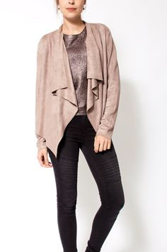 AW2015131 Quin Jacket Taupe Ydence