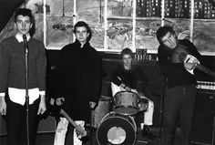 Subway Sect, Chalk Farm, December 1976. Photo by Sheila Rock