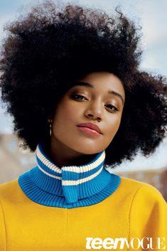 Amandla Stenberg on Girl Power, Race and Hair – Amandla Stenberg Covers Teen Vogue February 2016 Issue | Teen Vogue