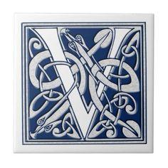 Celtic V Monogram