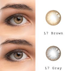 series: Brown and gray Colored Eye Contact Lenses, Color Contact Lenses Online, Brown Contact Lenses, Best Contact Lenses, Colored Eye Contacts, Grey Contacts, Eye Lens Colour, Color Lenses, Eye Color