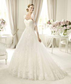 Ball Gown Wedding Dresses : Pronovias presents the Pergola bridal dress Costura 2013. | Pronovias