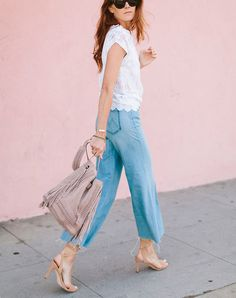 14 Ways to Dress Up Your Favorite Jeans