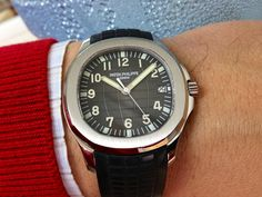Patek Philippe Jumbo Aquanaut Simple Watches, Cool Watches, Watches For Men, Men's Watches, Patek Philippe Aquanaut, Patek Philippe Calatrava, Beautiful Watches, Luxury Watches, Omega Watch