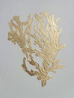 Gilded Corals II – Greige Design