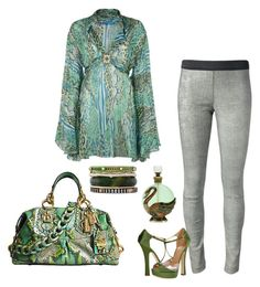 """""""Verde"""" by carolortiz ❤ liked on Polyvore featuring Matthew Williamson, Drome, Dsquared2, Coach and Iosselliani"""