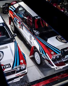 Hatchback Cars, Martini Racing, Lancia Delta, Rally Car, Evo, Cars And Motorcycles, The Past, Nice Things, Classic