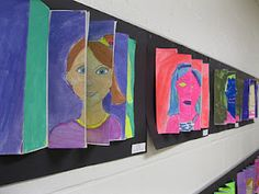 The Art Room at The Falcon Academy of Creative Arts: What's Happening in Our Hallways!
