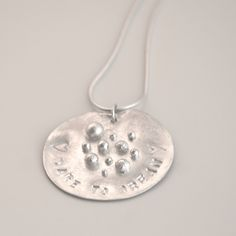 """The product """"Dare to dream"""" necklace is sold by rikke kjelgaard jewelry webshop in our Tictail store.  Tictail lets you create a beautiful online store for free - tictail.com"""