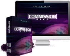 This Will Work For You Whether You're An Accomplished Marketer Or a Complete Beginner! Why You Need To Grab Commission Five RIGHT NOW. Commission Five is a UNIQUE Affiliate Marketing System That Takes Your Affiliate Promotions To The Next Level! Inside The Commission Five You Get Everything You Need To Finally Get Ahead and Start Generating Life Changing Income…. Inside the video training, you have everything you need to get started today and discover a super powerful method to generating...