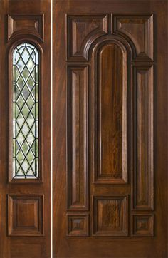 Awesome Mahogany Entry Doors with Sidelights