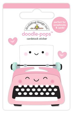 Doodlebug Design So Punny Cardstock Stickers Icons Friends 6013
