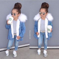 Ideas para vestir a tu princesa photo beautiful babies! Baby Outfits, Little Girl Outfits, Cute Girl Outfits, Cute Outfits For Kids, Little Girl Fashion, Toddler Girl Outfits, Fashion Fashion, Cute Kids Fashion, Toddler Fashion