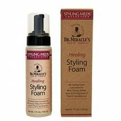 "Dr Miracle's Healing Style Foam by DR. MIRACLE'S. $10.40. Excellent for blow drying, rollers irons & curling & you'll ""Feel It"" working too!"