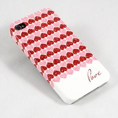 Love Valentine's Day Phone Case - iPhone 4 4S, iPhone 5 and Samsung Galaxy S III. $26.50, via Etsy.