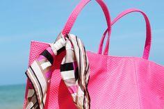 Na minha bolsa de praia!