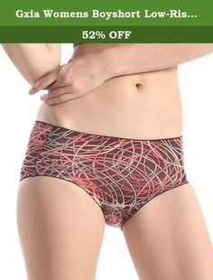 d7d337a30 Gxia Womens Boyshort Low-Rise Panty. Email us if you need avariety colors.