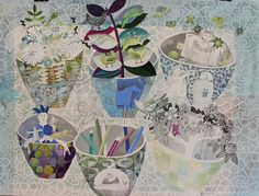 six bowls by cate edwards, via Flickr