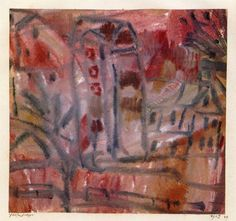 Group of Houses (Paul Klee - )