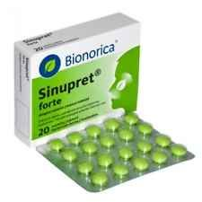Sinupret Forte + Bionorica *SINUS Congestation 20/tabs