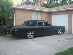 1966 Lincoln Continental Blacked Out | Classic Cars Classifieds