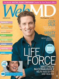 "Kathy's favorite motivational quote - ""Just keep living."" - Matthew McConaughey   http://on.webmd.com/MZ2dCU #webmdsweeps"