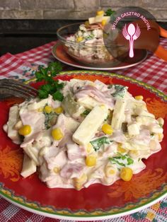 Cold Dishes, Camembert Cheese, Potato Salad, Bacon, Dinner Recipes, Food And Drink, Meat, Chicken, Ethnic Recipes