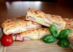 Virslis-sajtos lepény Hungarian Cuisine, Hungarian Recipes, Hungarian Food, Meat Recipes, Chicken Recipes, Cooking Recipes, Winter Food, Sandwiches, Good Food