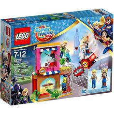 Lego DC Superhero Girls Harley Quinn to the rescue, Multicolor