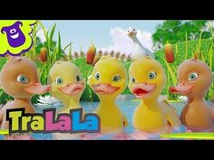 Five Little Ducks - Learn English with Songs for Children