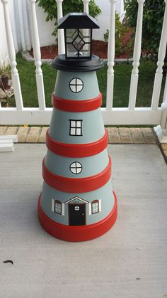 pot Lighthouse Blumentopf Leuchtturm, Flower pot Lighthouse Blumentopf Leuchtturm,Flower pot Lighthouse Blumentopf Leuchtturm, Flower pot Lighthouse Blumentopf Leuchtturm, 12 Clay Pot Lighthouse Projects for Your Garden Flower Pot Art, Clay Flower Pots, Flower Pot Crafts, Clay Pots, Clay Pot Projects, Clay Pot Crafts, Diy Clay, Clay Pot Lighthouse, Lighthouse Decor