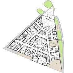 triangle plan + architecture - Recherche Google