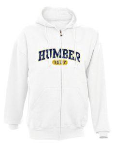 Full-zip hooded sweatshirt #Humbercollege