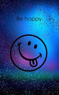 Be Happy Wallpaper by - - Free on ZEDGE™ now. Browse millions of popular emoji Wallpapers and Ringtones on Zedge and personalize your phone to suit you. Browse our content now and free your phone Sparkle Wallpaper, Smile Wallpaper, Cute Emoji Wallpaper, Phone Screen Wallpaper, Flower Phone Wallpaper, Butterfly Wallpaper, Cellphone Wallpaper, Cute Cartoon Wallpapers, Colorful Wallpaper