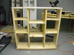 9 cubby Shelf | Do It Yourself Home Projects from Ana White