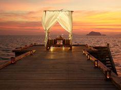 Intimate dinner for two at Santhiya Koh Yao Yai Resort & Spa, Thailand