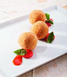 Arancini dello chef Antonino Canavacciuolo - in cucina comando io