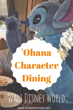 The complete guide to everything you need to know about 'Ohana at Walt Disney World. 'Ohana is a character dining experience located at the Polynesian Village Resort. Read on for all my family tips.
