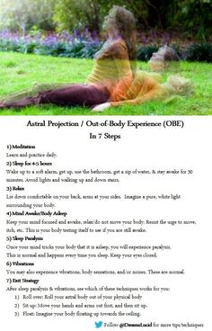 Astral Projection / Out-of-body experiences can occur when the third eye chakra is clear and well balanced. Head to for more ideas, tips, techniques and info on and Magick, Witchcraft, Wiccan, Pagan Witch, Witches, Reiki, Out Of Body, Dream Journal, Psychic Development