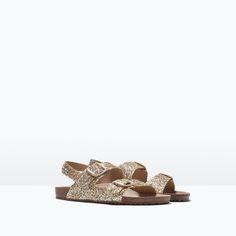 Image 2 of GLITTER SANDAL from Zara